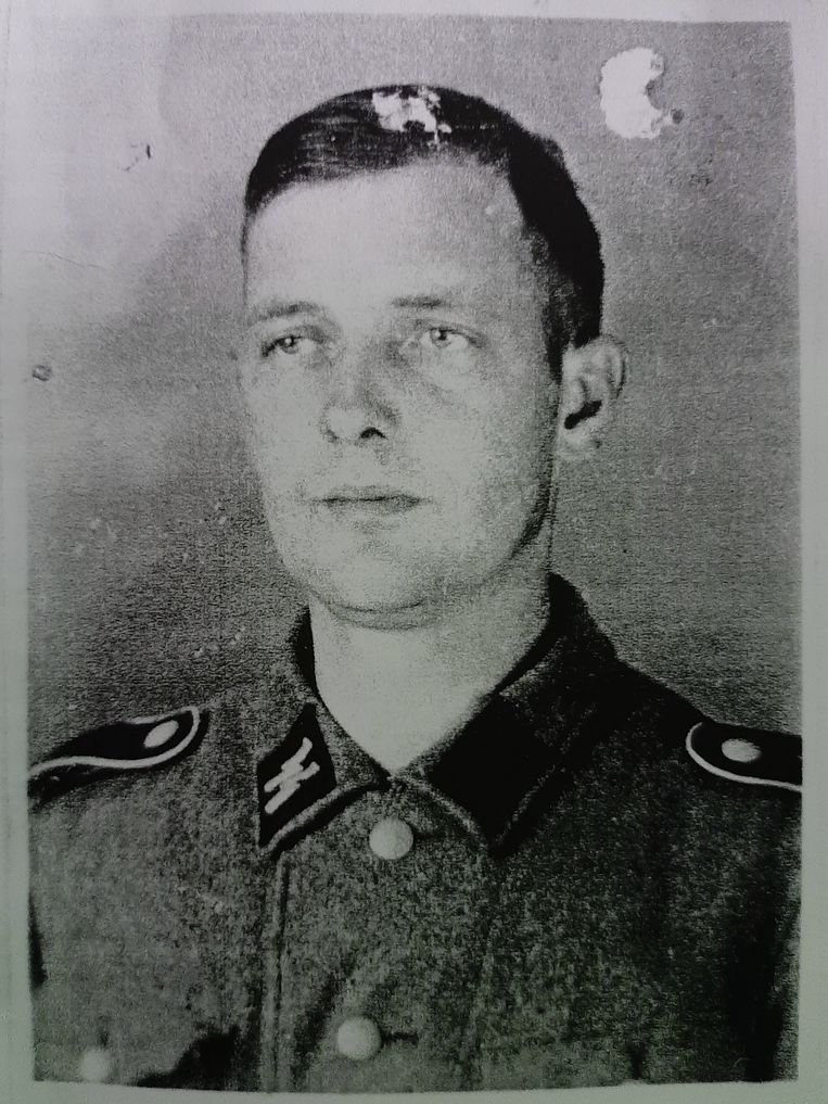 Nederlandse SS-bewaker. Beeld Bundesarchiv