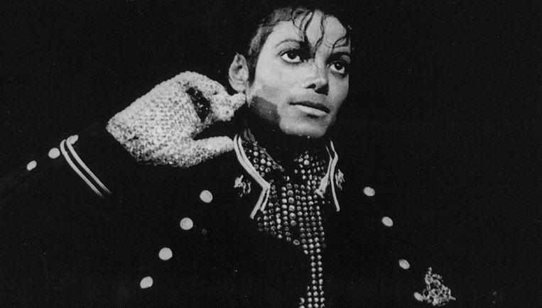 Michael Jackson in zijn hoogtijdagen in de jaren tachtig. Foto ANP Beeld
