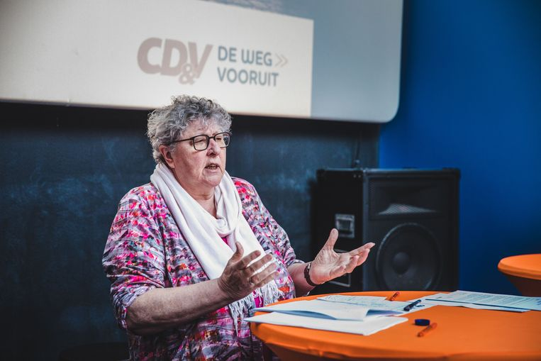 Mieke Van Hecke. Beeld Wannes Nimmegeers