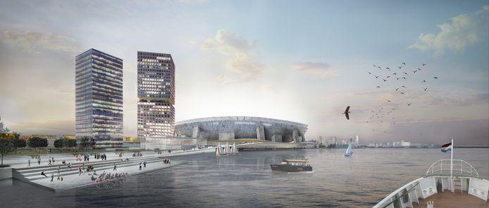 Impressie Feyenoord City.