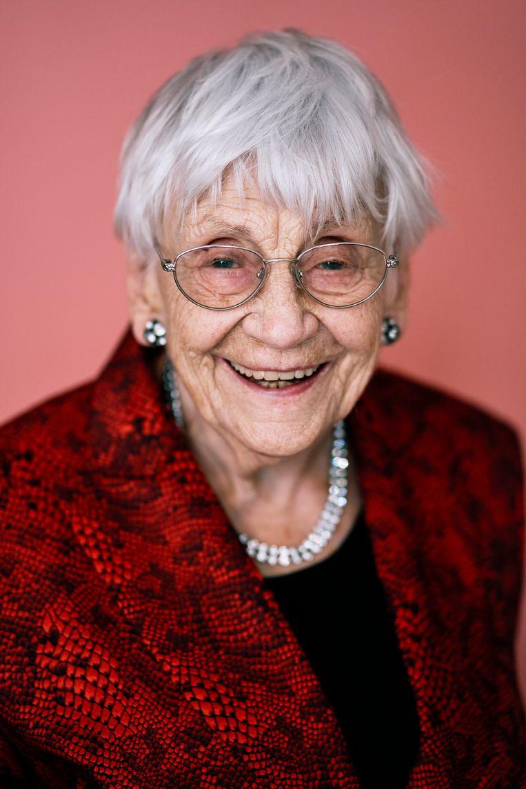 Paula Sémer werd 96 jaar. Beeld Joris Casaer Photography
