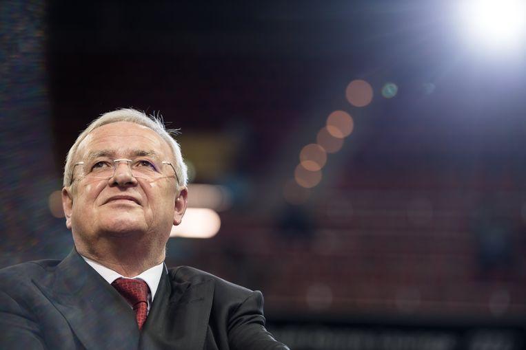 Oud-topman van Volkswagen Martin Winterkorn. Beeld EPA