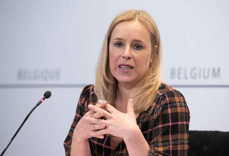 Staatssecretaris voor Consumentenbescherming Eva De Bleeker Beeld BELGA
