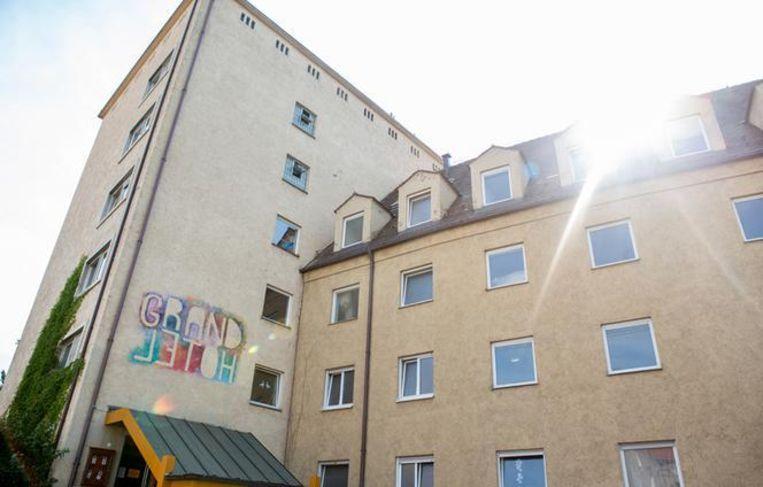 Het hotel in Ausburg. Beeld Grandhotel Cosmopolis