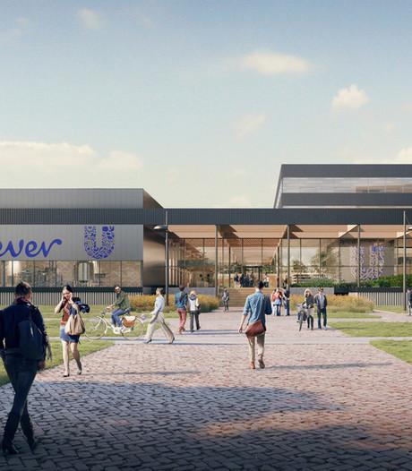 Parkeergarage bij pand Unilever op  Wageningen Campus