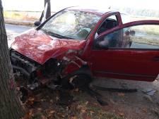 Vrouw raakt macht over het stuur kwijt en botst op boom in Schaijk
