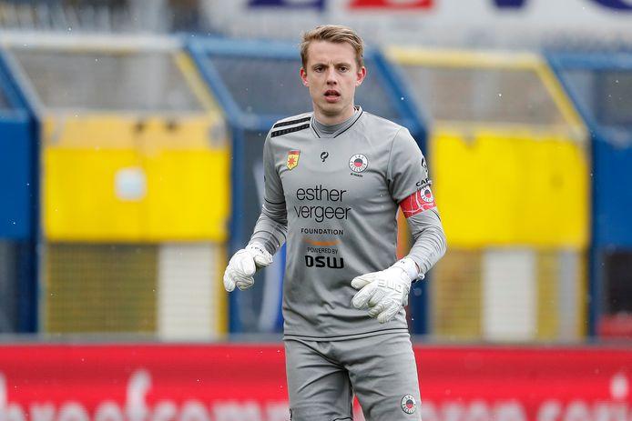 Maarten de Fockert stond de laatste drie seizoenen onder contract bij Excelsior, waar hij acht duels voor keepte.