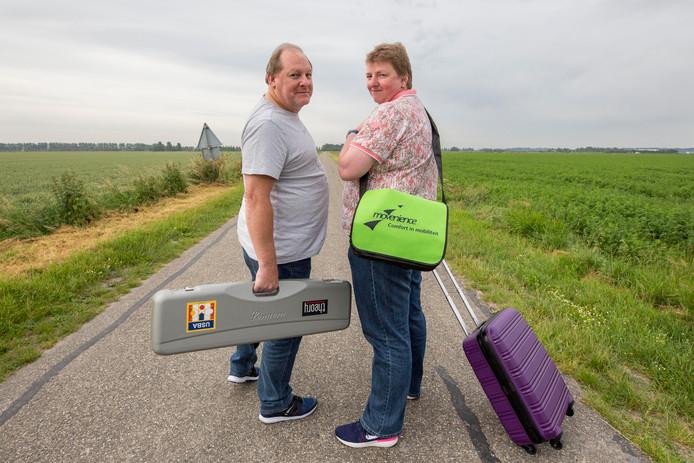 Sylvia Eckel (rechts) en Ronald van Geyt.