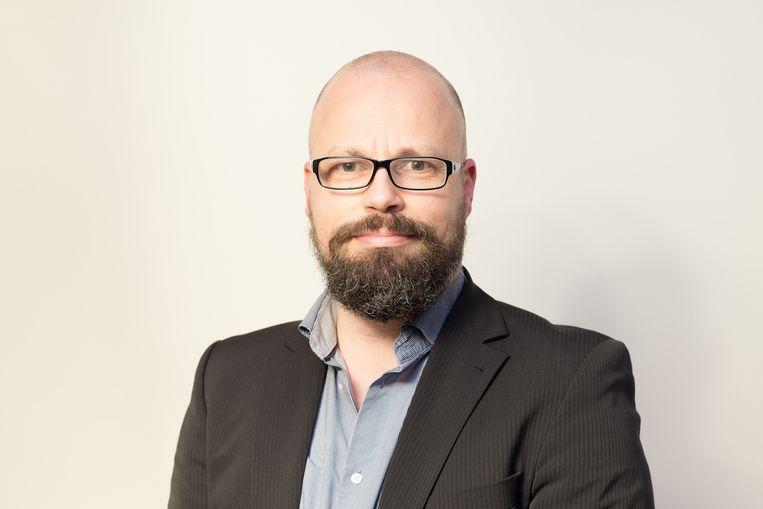 Mathieu Paapst, universitair docent IT-recht aan de Rijksuniversiteit Groningen. Beeld Mathieu Paapst