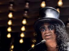 Slash, l'ex-guitariste de Guns N'Roses, inaugure son étoile à Hollywood