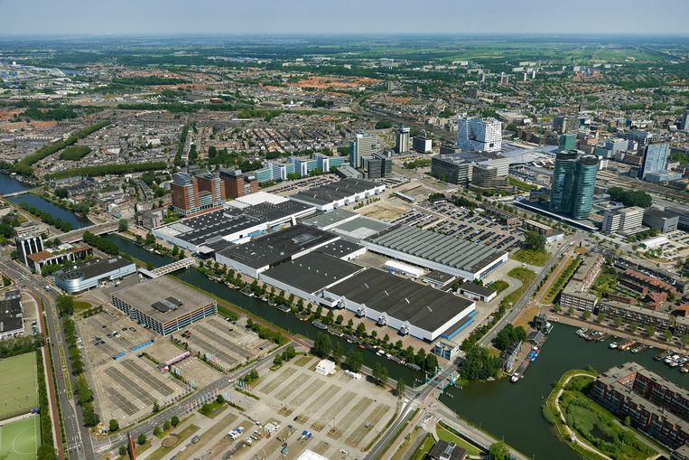 De Jaarbeurs in Utrecht. Beeld Aerophoto-Schiphol