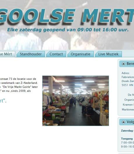 'Gôôlse Mért moest dicht vanwege hetze door Goirlese burgemeester'