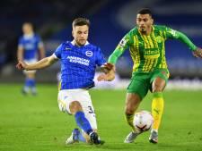 Veltman debuteert als basisspeler met gelijkspel bij Brighton