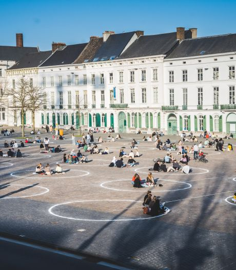 Gezellig druk in Gent, politie moet nergens ingrijpen