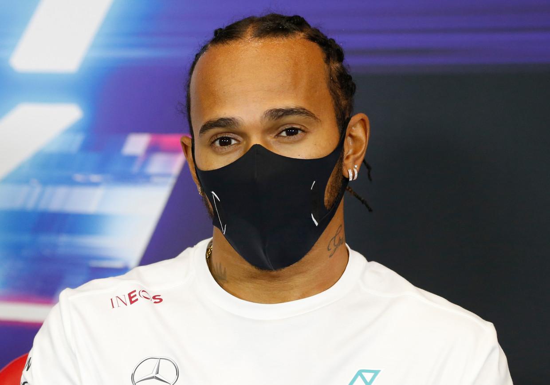 Meervoudig wereldkampioen Lewis Hamilton is met een jaarloon van 38 miljoen euro de grootverdiener in de formule 1. Beeld AP
