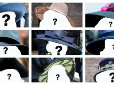 Wie droeg welk hoedje? Doe de quiz!