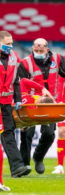 Opluchting bij Veldmate na knieblessure: 'Geen operatie en geen blijvende schade. Het positieve gevoel overheerst'