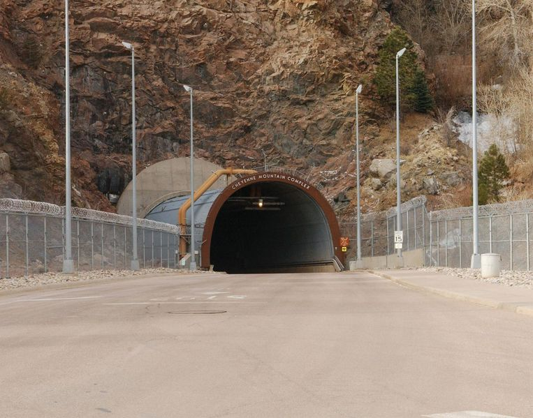 NORAD in Colorado Springs.