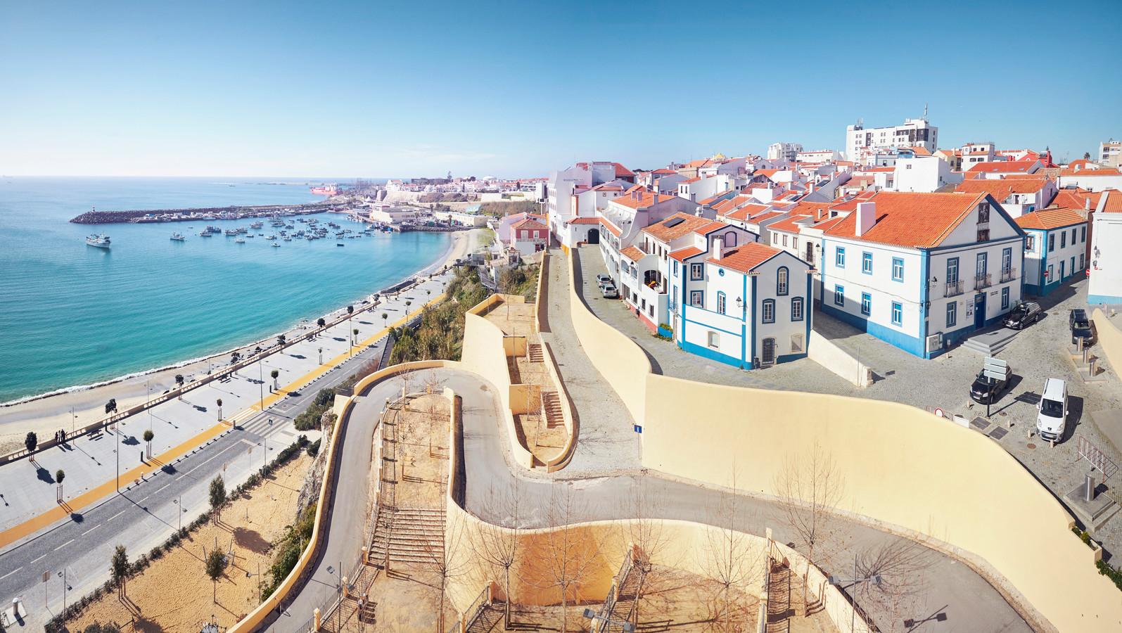 Het stadje Sines in de Portugese Alentejo-regio.