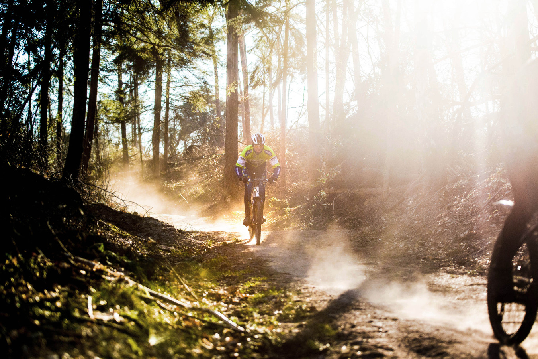 Doordeweeks mountainbiken? Prima te doen.