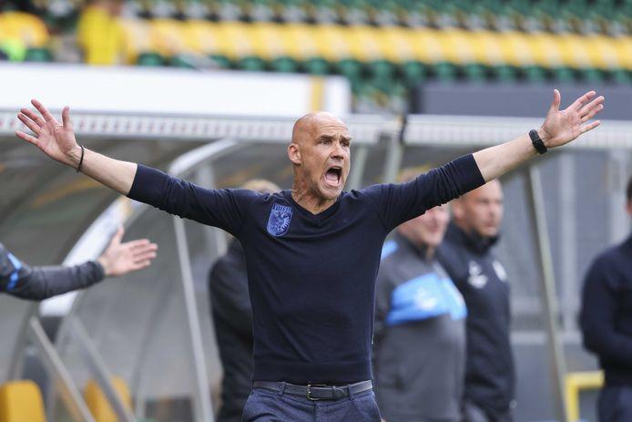 Thomas Letsch, de coach van Vitesse.
