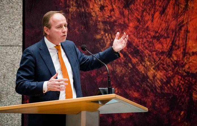 SGP-partijleider Kees van der Staaij.