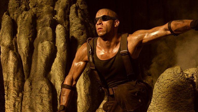 Vin Diesel in Pitch Black. Beeld x