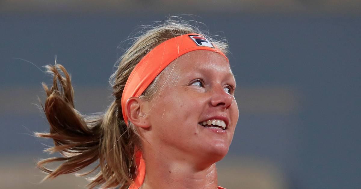 Bertens heeft eerste overwinning van 2021 te pakken | Tennis - AD.nl