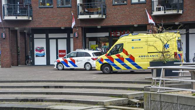 Baby in buggy rolt vijver in terwijl moeder aan het shoppen is in Nederland