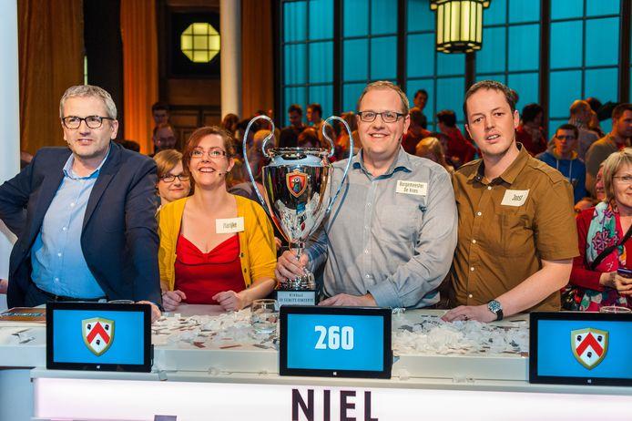 Niel wint in 2014 de titel van 'Slimste Gemeente' op Vier.