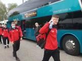 Go Ahead Eagles arriveert in Rotterdam