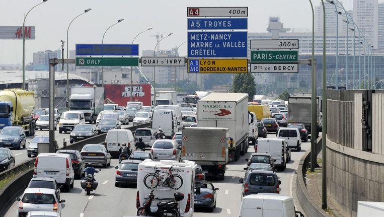In Nederland zijn er geen knelpunten; het echte fileleed begint in België en Frankrijk. Beeld anp