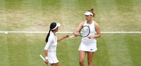 Elise Mertens et Hsieh Su-Wei en finale du double à Wimbledon