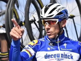 IN BEELD. Knalt Gilbert zich in maart 2020 in befaamd lijstje met wielericonen die vijf monumenten wonnen?