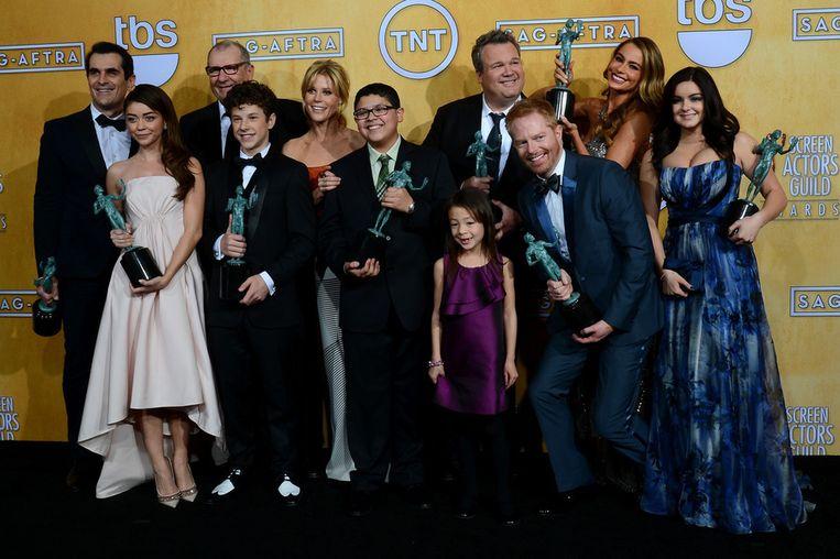'Modern Family', Beste Cast uit een Komische Reeks Beeld afp