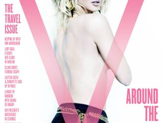 Nicole Kidman topless op cover Amerikaans magazine