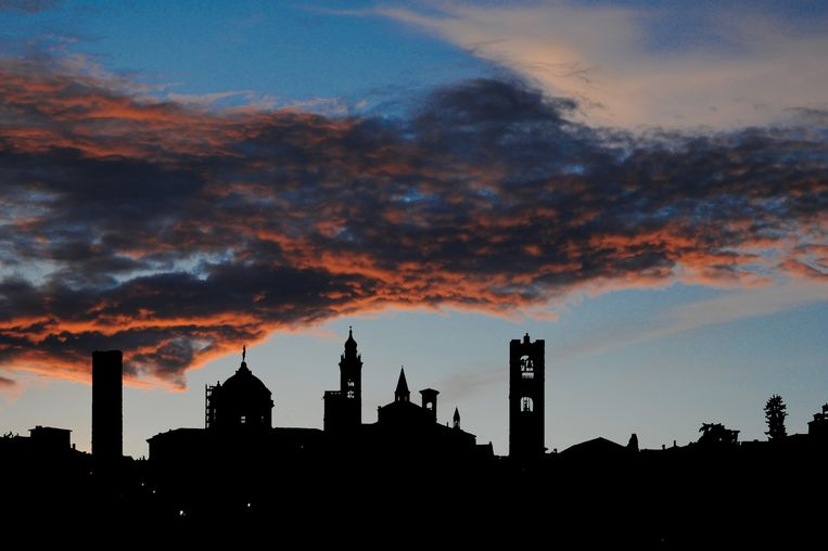 De skyline van Bergamo. Beeld COLOURBOX
