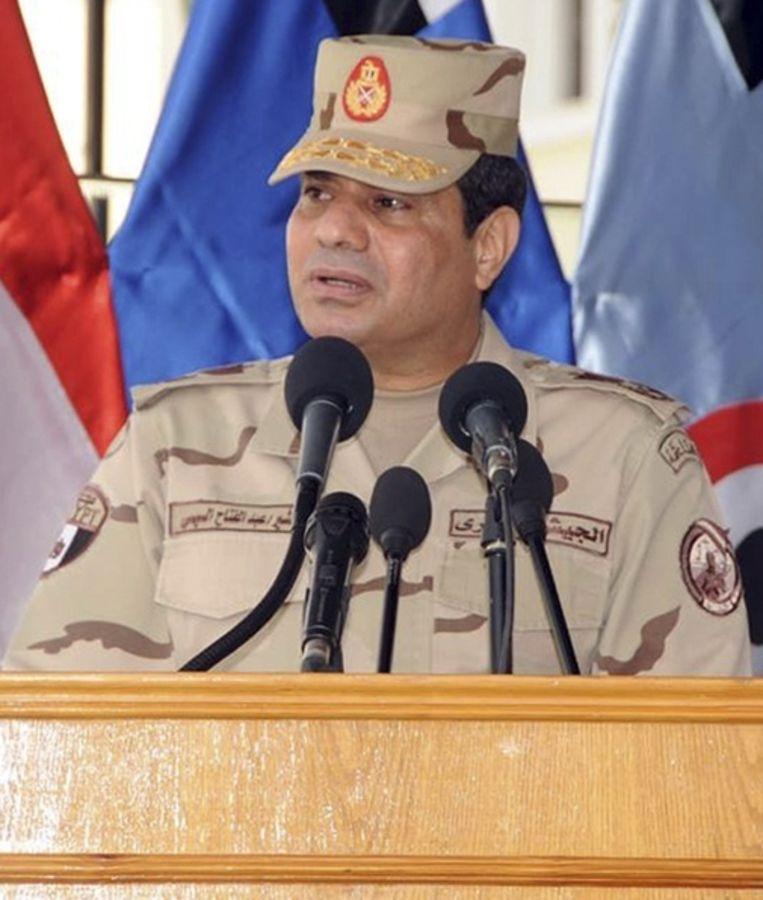 Legerleider Abdel al-Sisi Beeld REUTERS