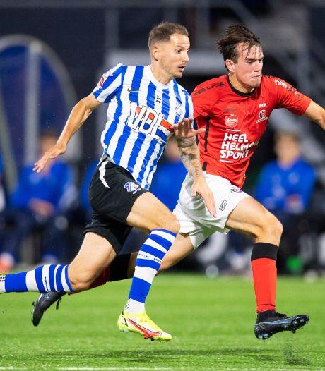 Vreugde bij Sleegers en FC Eindhoven, Helmond-captain Van der Meer kritisch: 'Die goal mag nooit zo snel vallen'