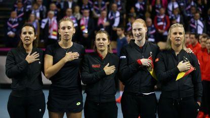 België is morgen reekshoofd bij loting voor play-offs Wereldgroep in Fed Cup