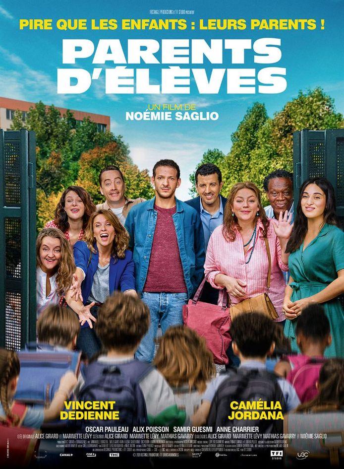 """L'affiche de """"Parents d'élèves"""" ne rend pas justice au film."""
