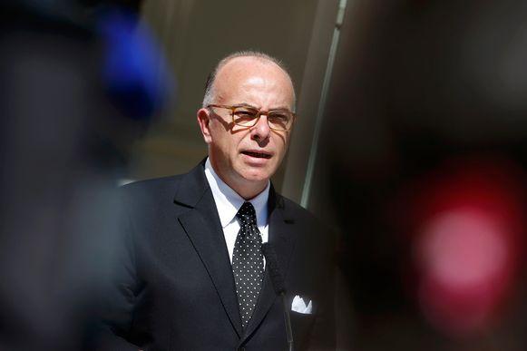 De Franse minister van Binnenlandse Zaken Bernard Cazeneuve.