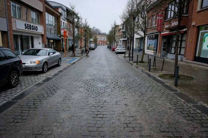 De Stationsstraat in Overijse wordt in 2023 heraangelegd.