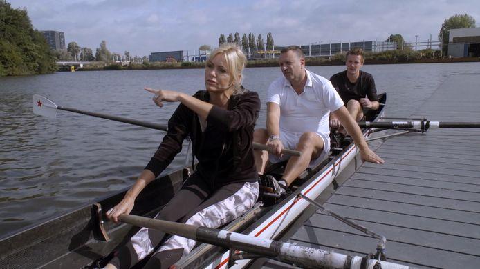Sophia de Boer uit Ermelo en haar man Erik ruilden hun leven voor de NTR-serie Jouw stad, ons dorp met die van studenten uit Groningen.