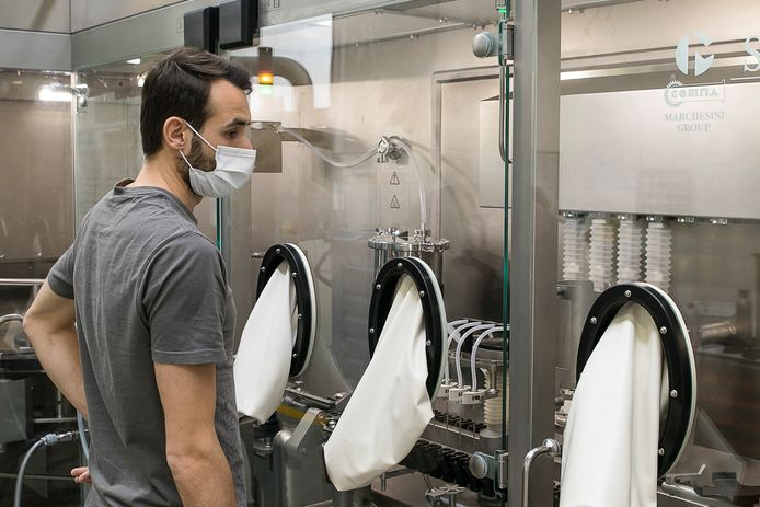 Het inpakbedrijf groeide behoorlijk door de Spoetnik-vaccins.