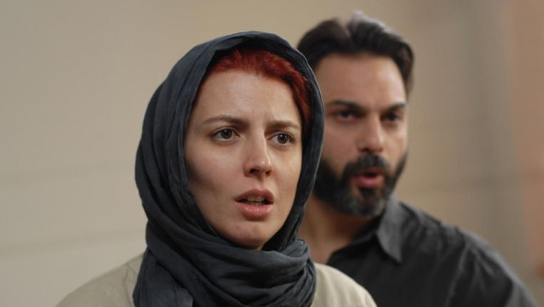 In A Separation van de Iraanse regisseur-scenarist Farhadi komen Nader en Simin na veertien jaar huwelijk tot een scheiding. Beeld