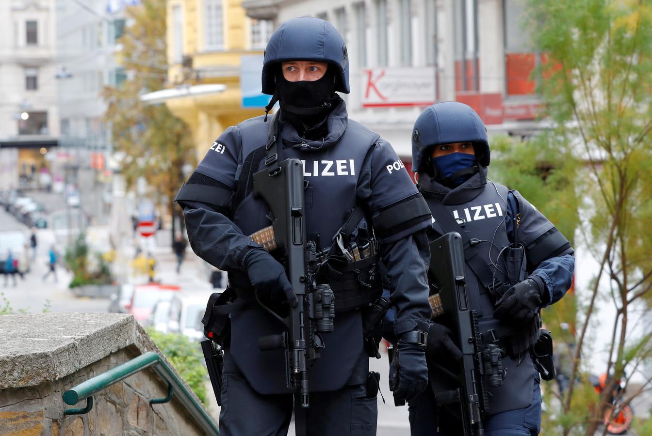Patrouille à Vienne, le 4 novembre
