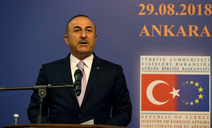 De Turkse minister van Buitenlandse Zaken Mevlut Cavusoglu zegt dat de hervormingen een prioriteit zijn.