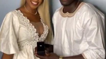 Slechts vier duels in de Ligue 1, maar ondertussen heeft Kara zich wel verloofd met Miss Senegal France