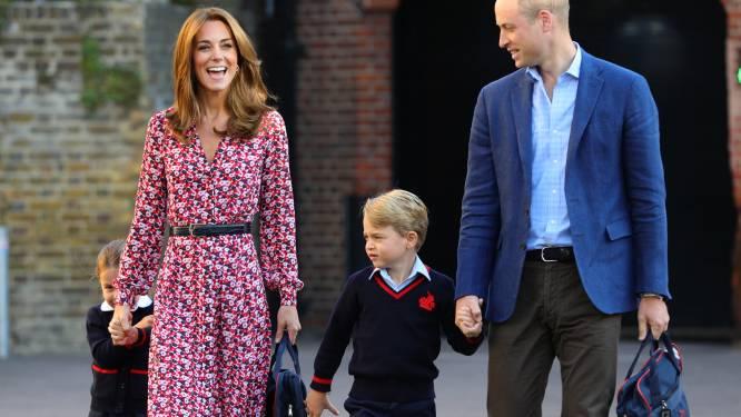 Deze 'normale' namen gebruiken prins George en prinses Charlotte op school
